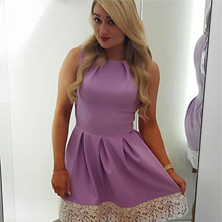 Lilac Closet Dress