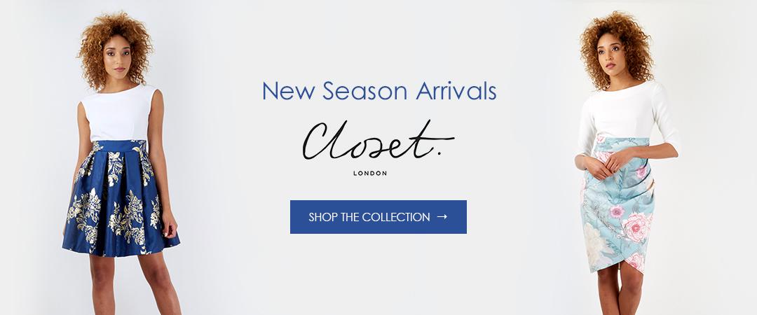 Summer Arrivals Closet