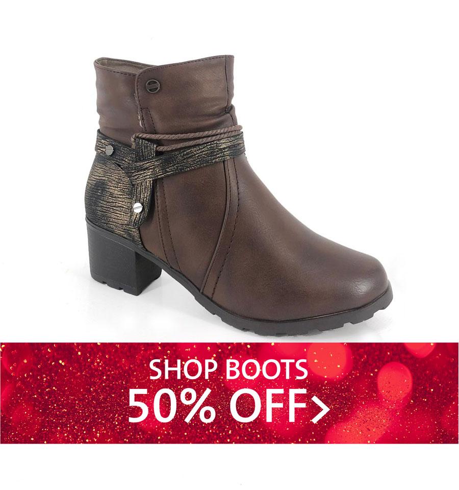 SHOP BOOTS 50% OFF