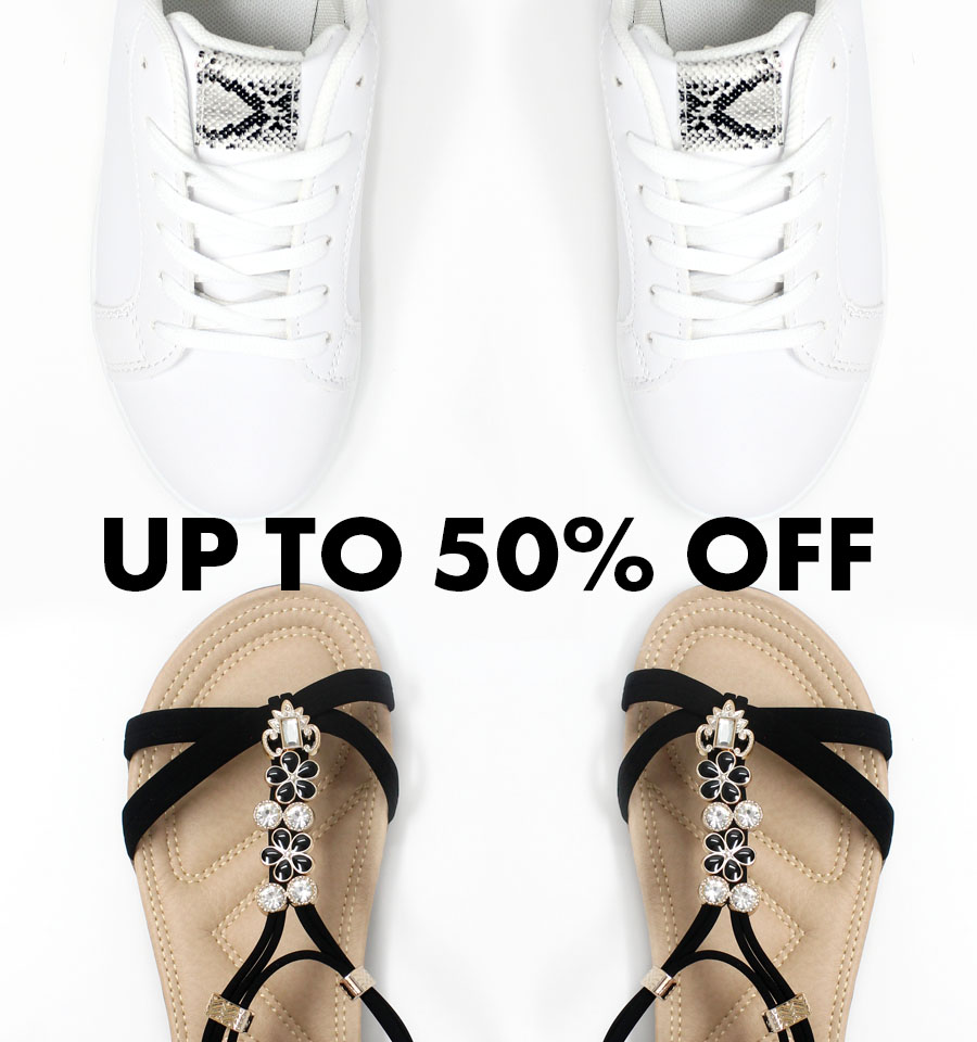 Shoe Sale - Up to 50% Off