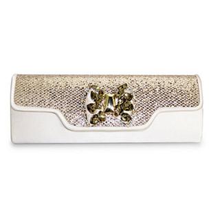Lunar Gold Glitz Clutch Bag