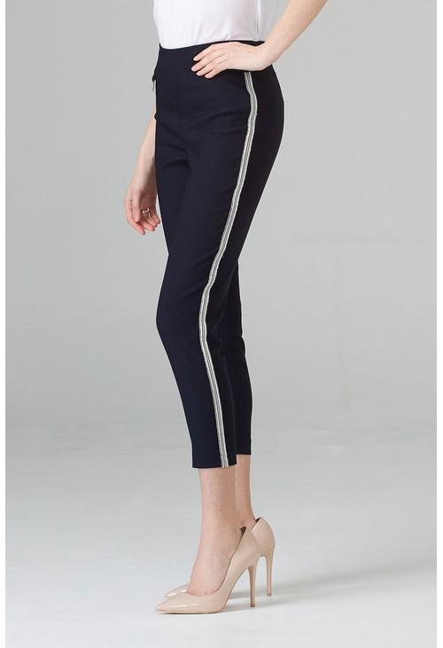 Joseph Ribkoff Dressy Navy Trousers