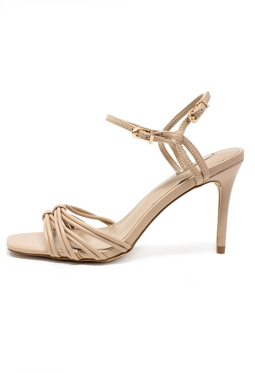 Shoe Lounge nude rope effect sandal