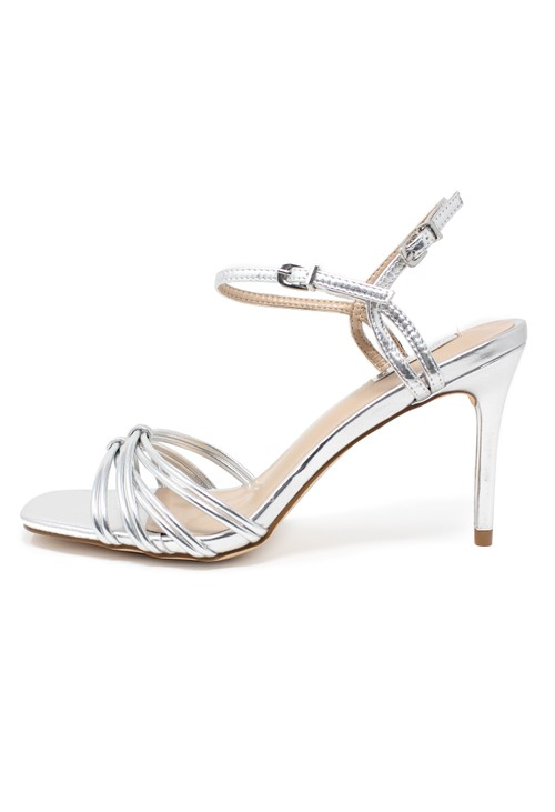 Shoe Lounge silver rope effect sandal