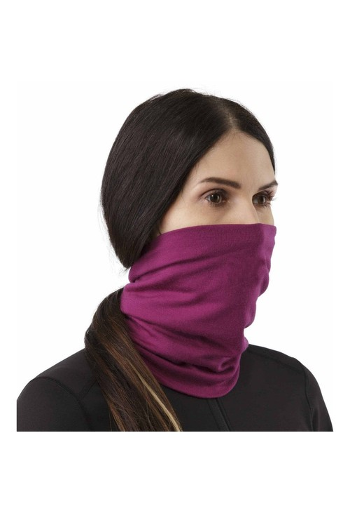Pamela Scott Black Versatile Neck Warmer/Face Mask (Kids)