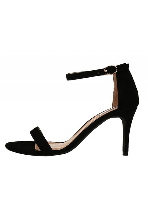 Shoe Lounge Black Barely There Strappy Heels