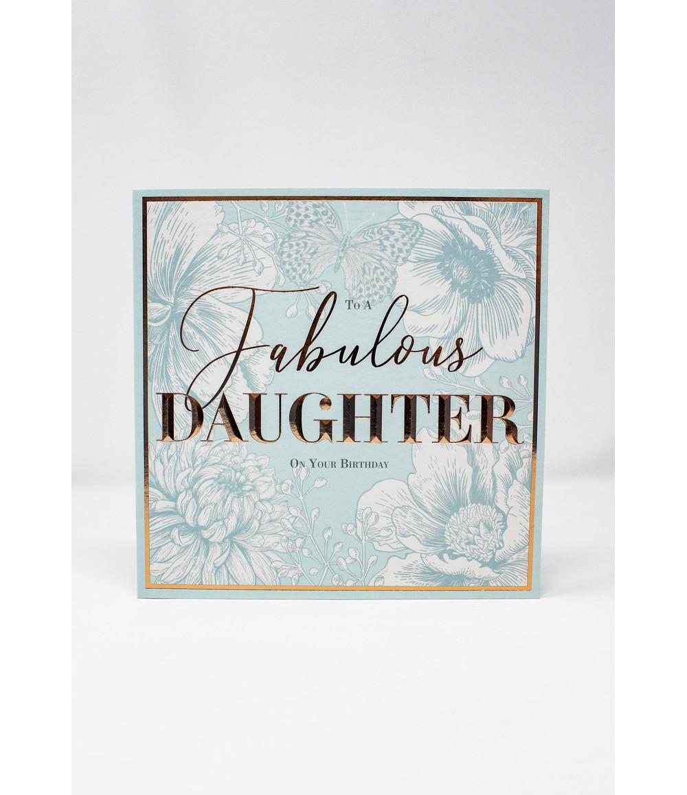 Pamela Scott Birthday Card   Fabulous Daughter