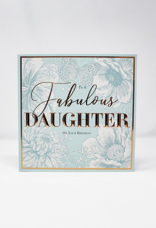 Pamela Scott Birthday Card | Fabulous Daughter