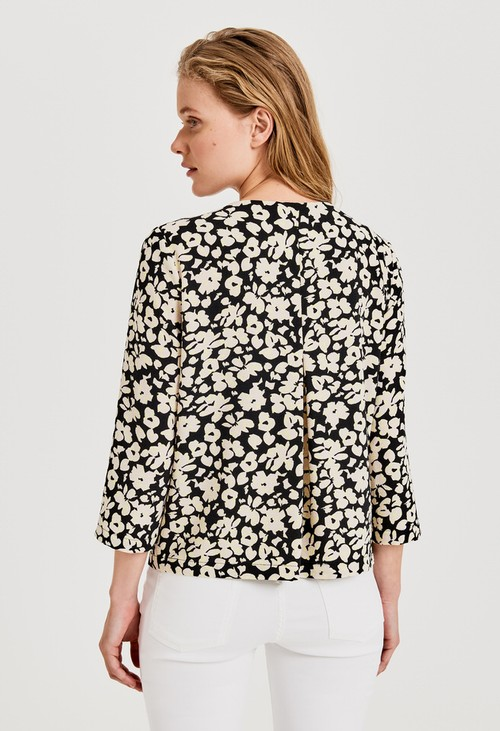 Opus Blouse with Falesha mindful print