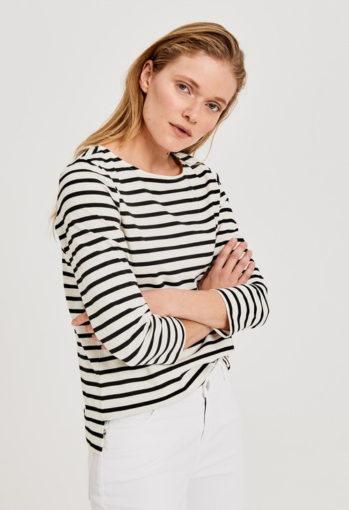 Opus Stripe shirt Sipes