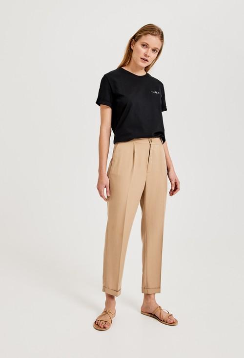 Opus Pleated trousers Majoola