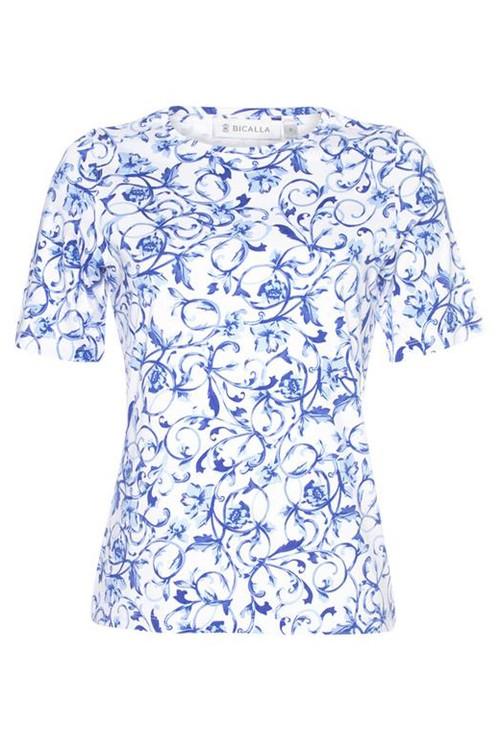 Bicalla Floral Print T-shirt