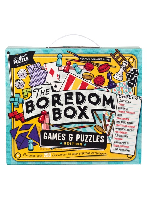 Puzzles Indoor Boredom Box