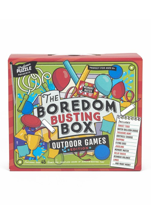 Puzzles Outdoor boredom box