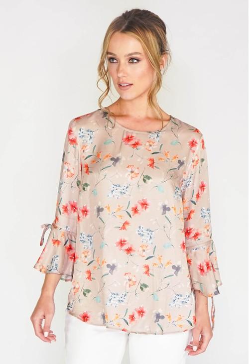 Sophie B Summer Floral print blouse