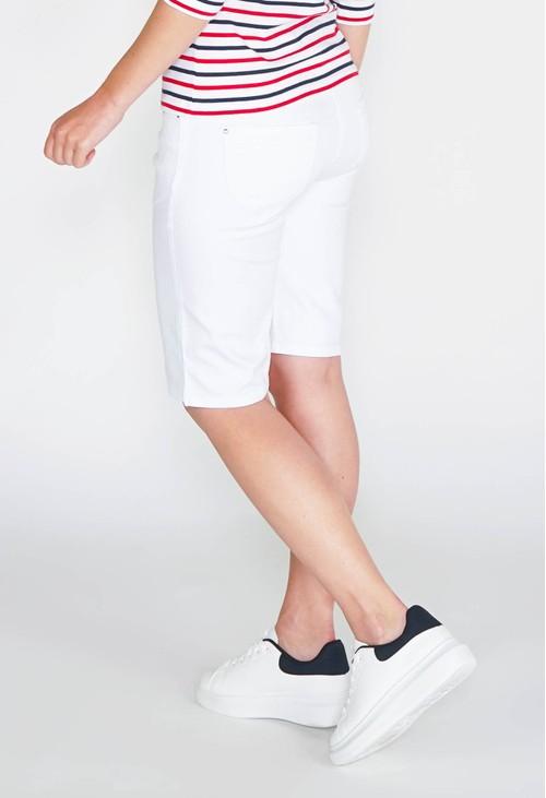 Twist CASUAL BERMUDA SHORTS - WHITE