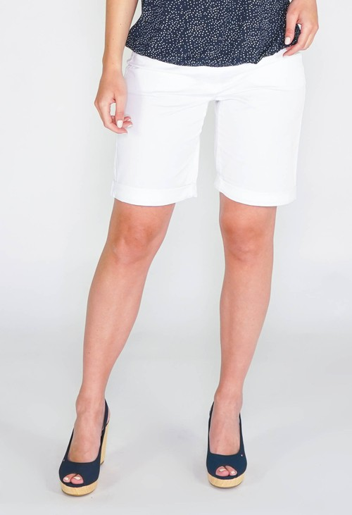 Gerry Weber Cotton Shorts in white