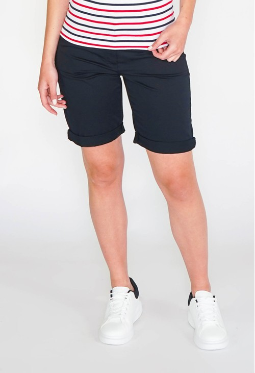 Gerry Weber Cotton Shorts in navy