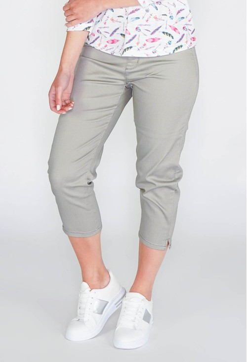 Twist SUDDENLY SLIMMER PULL ON CAPRI JEGGING