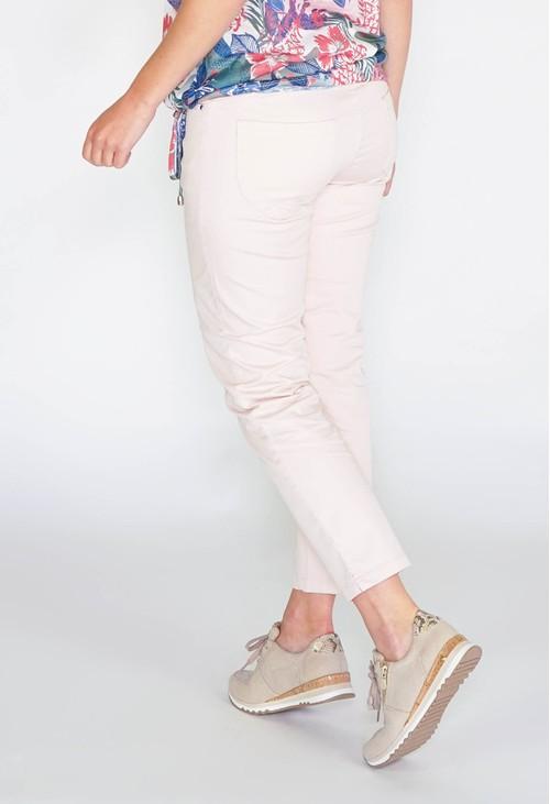 Sophie B GLAM COTTON SATEEN 7/8 PANT - ROSE