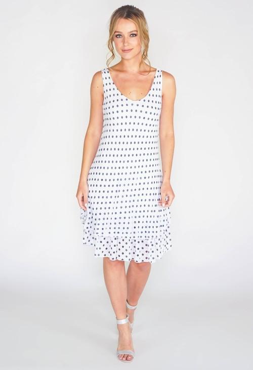 Pamela Scott Polka Dot Dress