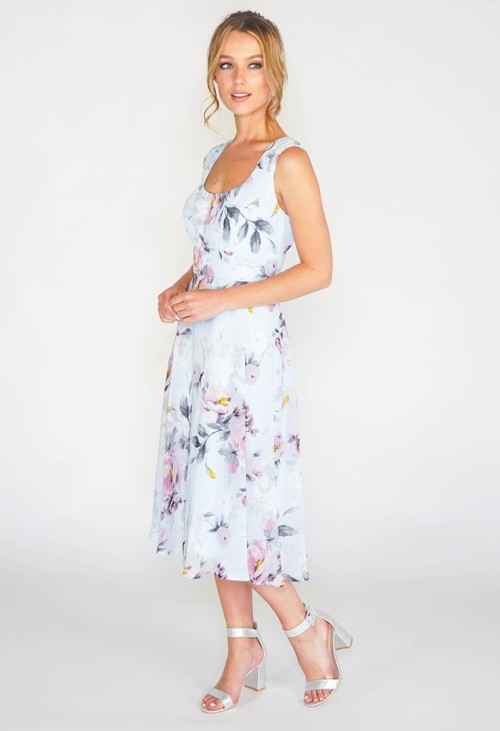 Pamela Scott Floral printed dress