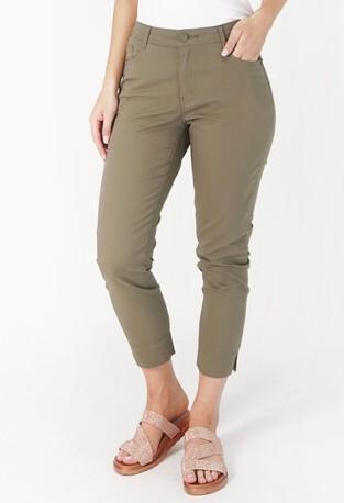 YOU YOU Dark Green Trousers