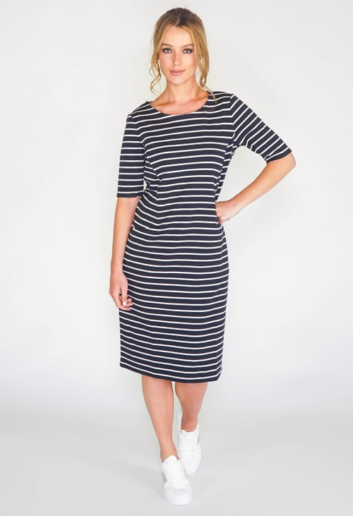 Gerry Weber Short Sleeve stripe dress