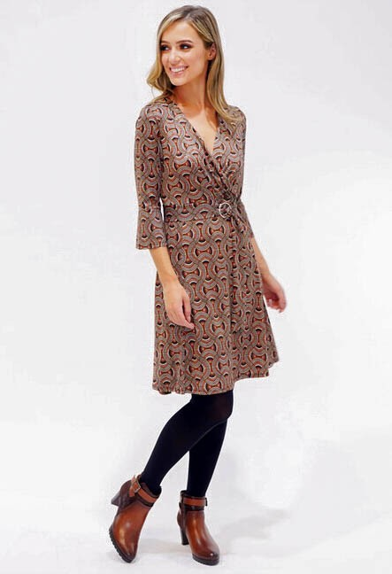 Sophie B Swirl Pattern Print Dress