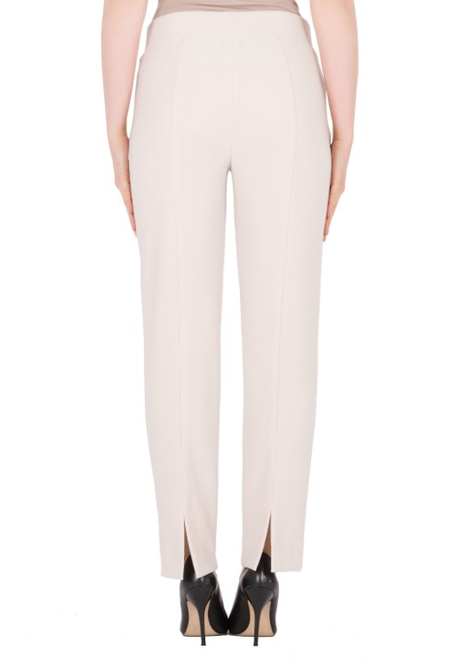 Joseph Ribkoff Cream Split Hem Trousers