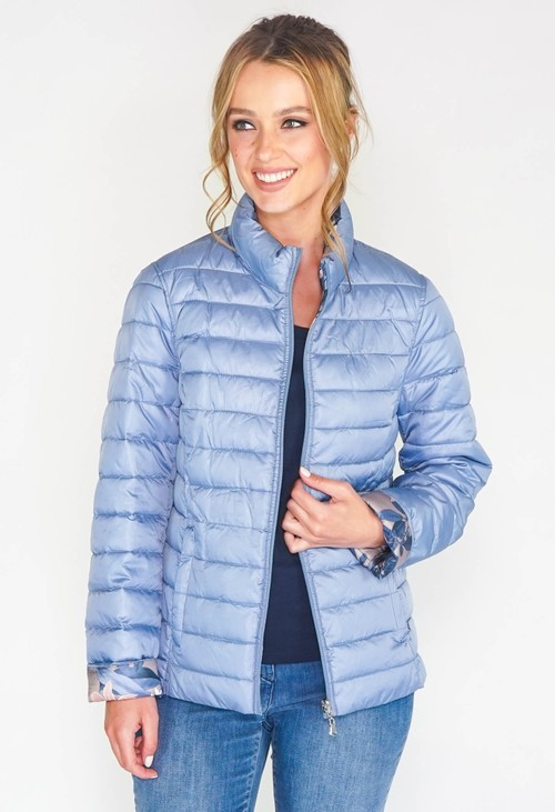 Twist Reversible Quilt Jacket