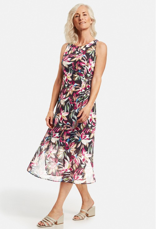 Gerry Weber Maxi dress with a wrap-over detail