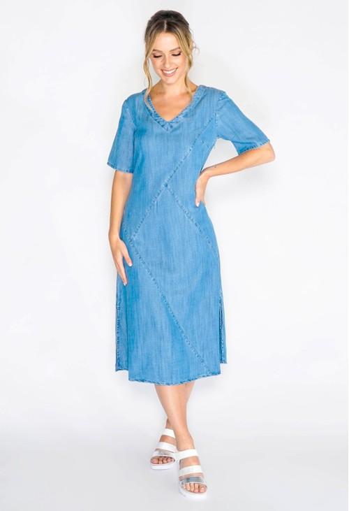 Pomodoro Lyocell Cutabout Dress