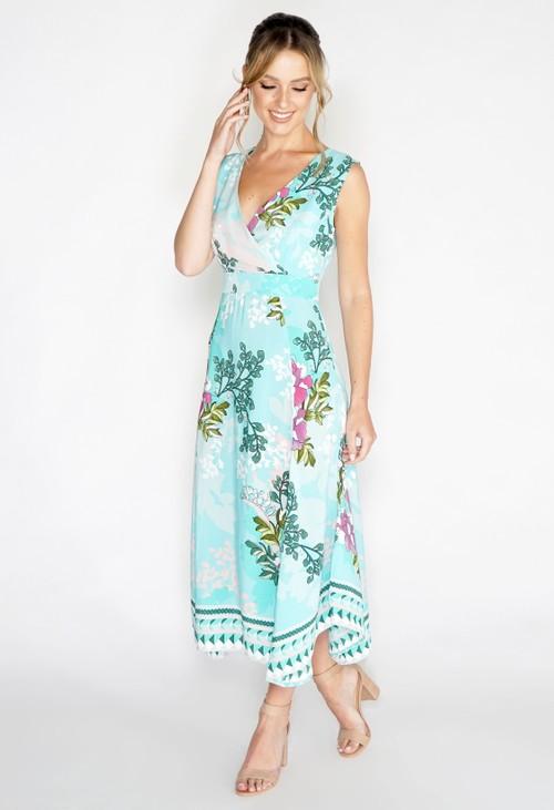 Pomodoro Jasmine Hanky Hem Dress