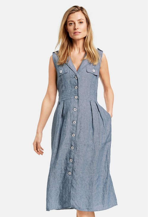 Gerry Weber Shirt dress made of pure linen