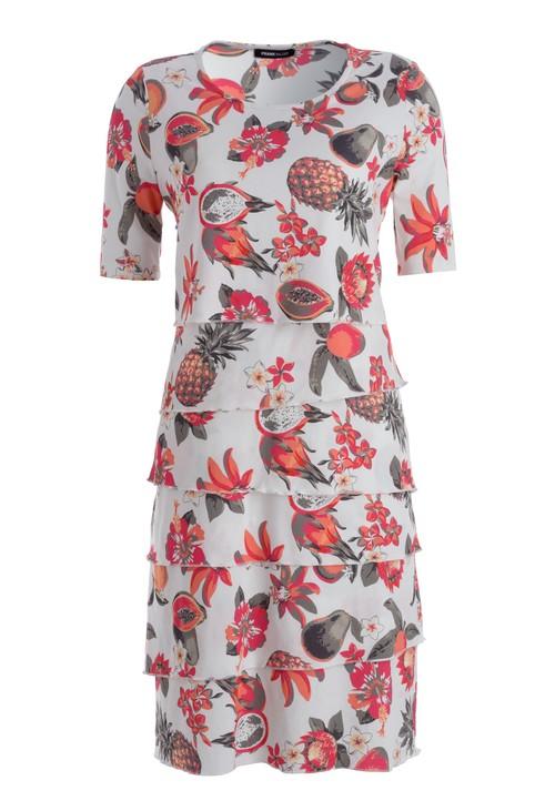 Frank Walder Malaga Floral Dress