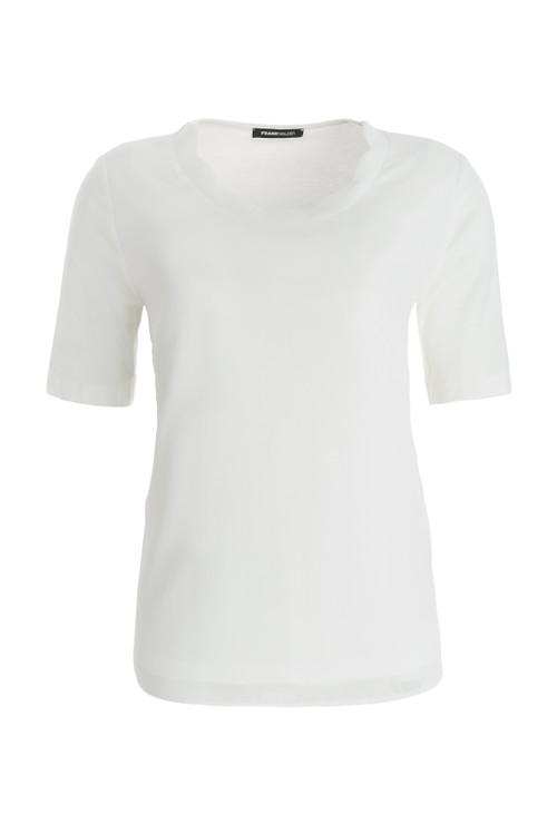 Frank Walder White T-shirt