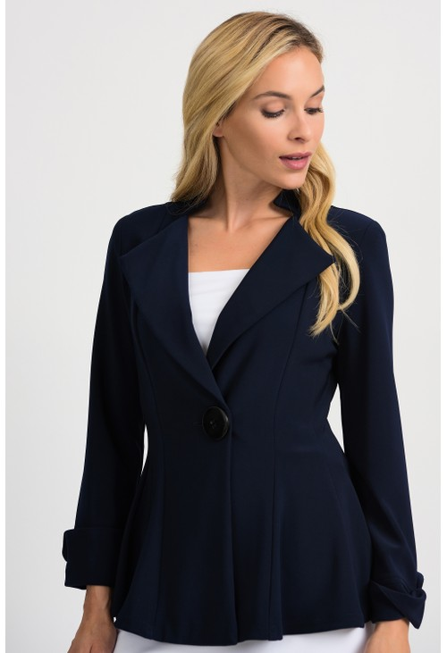 Joseph Ribkoff Midnight Blue Jacket