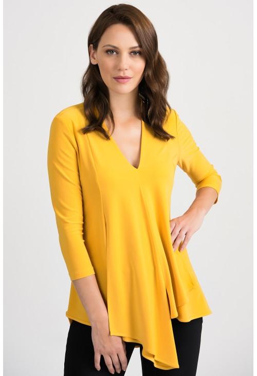 Joseph Ribkoff Yellow Tunic