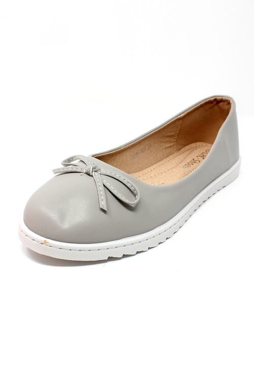 Shoe Lounge Soft Grey Lightweight Pull-on Pump