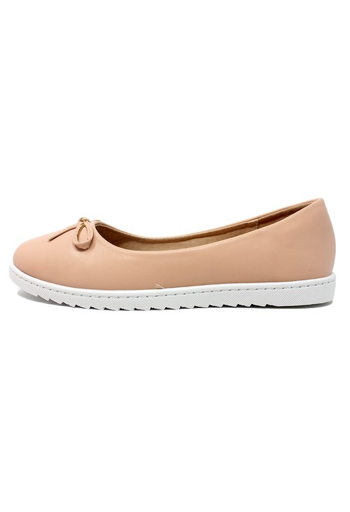 Pamela Scott Soft Pink Lightweight Pull-on Pump