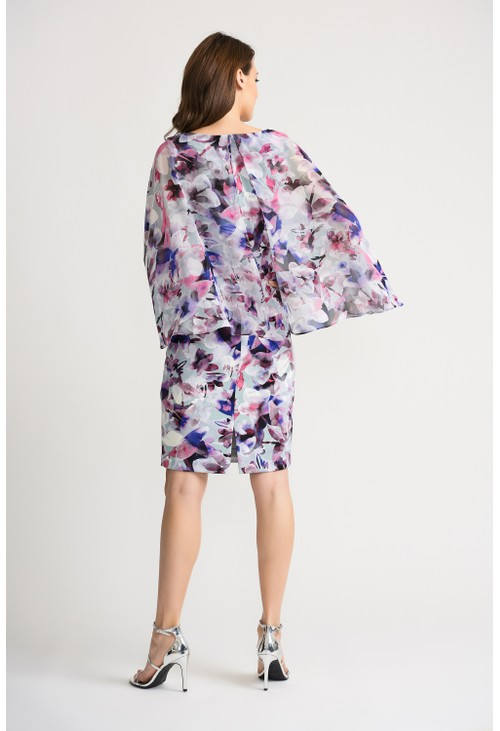 Joseph Ribkoff Watercolour floral dress