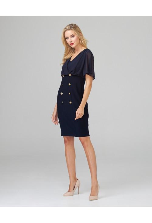 Joseph Ribkoff Naval Inspired Dress