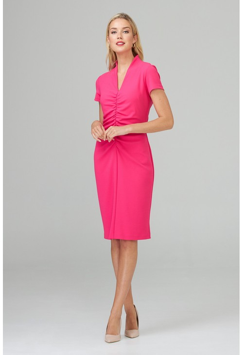 Joseph Ribkoff Pink Cocktail Dress