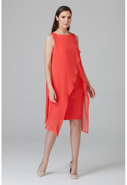 Joseph Ribkoff Overlay dress