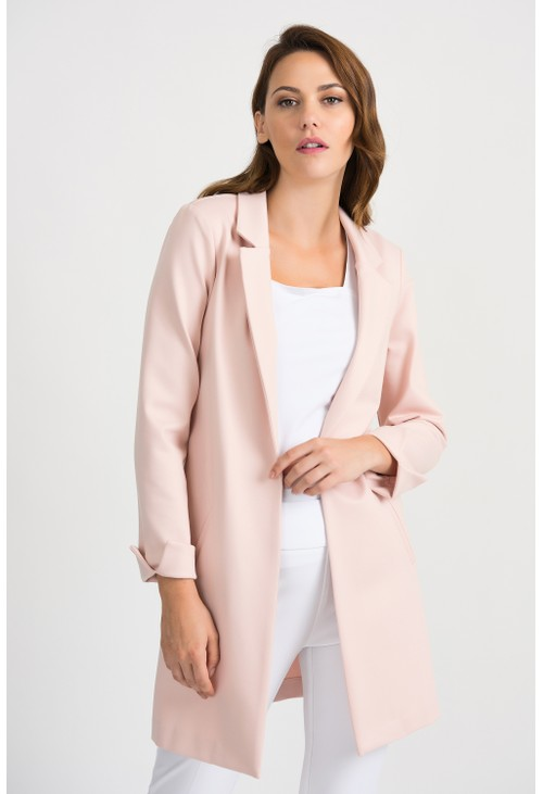 Joseph Ribkoff Long Rose Blazer