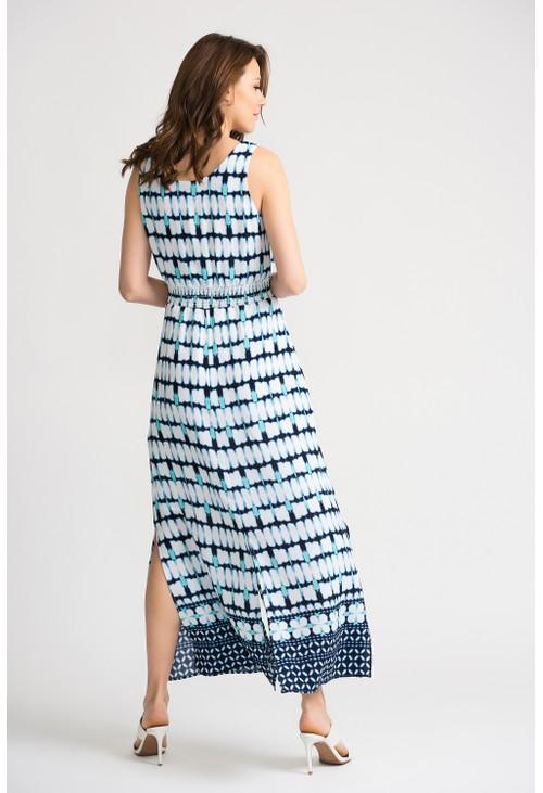 Joseph Ribkoff Full-length batik inspired dress