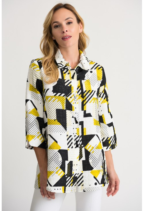 Joseph Ribkoff Graphic Shape Jacket
