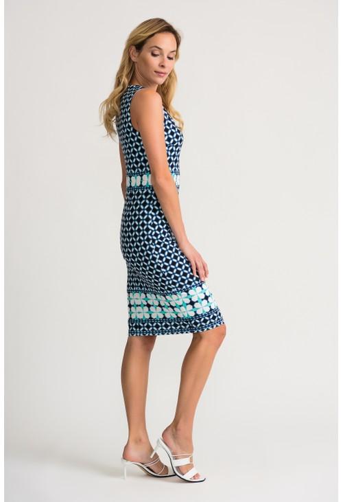 Joseph Ribkoff Geometric Pattern Dress