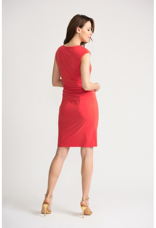 Joseph Ribkoff PAPAYA FITTED DRESS